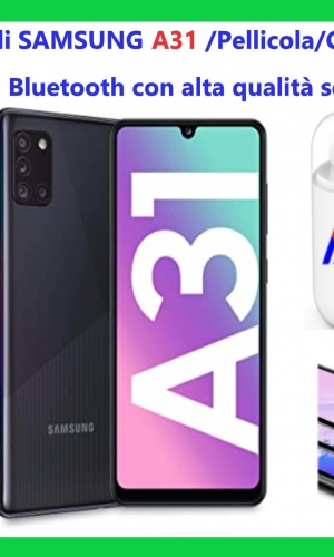 Samsung A31 pacchetto