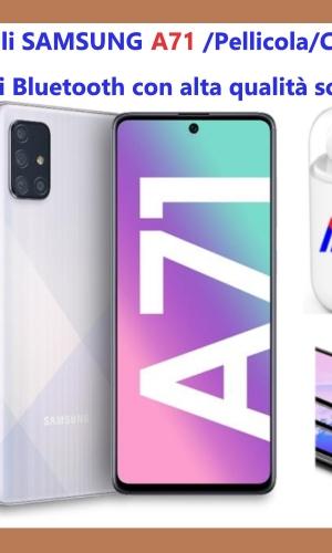 Samsung A71 pacchetto